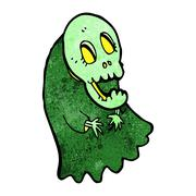 Stock Illustration of cartoon spooky ghoul