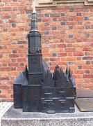 Replica Model of Wroclaw Church Stock Photos