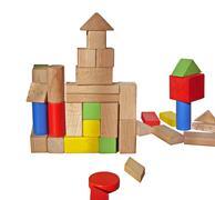 Montessori toys Stock Photos