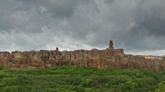 Pitigliano, Tuscany - time lapse Stock Footage