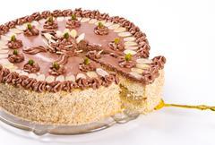 Halva cake - stock photo
