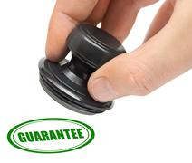 Hand and stamp Guarantee Stock Photos