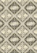 Delicate checkered seamless background with beige shades - stock illustration