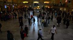 Grand Central Station / Terminal Stock Footage