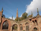 Stock Photo of Coventry Cathedral ruins