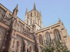 Southwark Cathedral, London Stock Photos