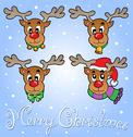 Stock Illustration of Christmas theme greeting card 6