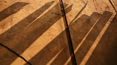 Shadows background Stock Footage