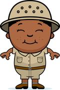 Stock Illustration of boy explorer