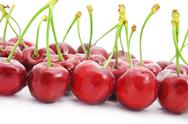 Stock Photo of appetizing cherries