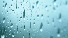 Rain Raining Against the Window on a Rainy Day - 25FPS PAL 4K UHD Stock Footage