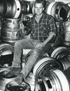 Brewery shot, Newbury area, 1980s Stock Photos