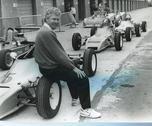 Ian Taylor. racing driver, 1980s Stock Photos