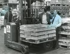 Stock Photo of Mustard company store, Newbury, 1980s