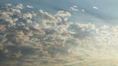 Sunrise Clouds Forming Time Lapse 3 - stock footage