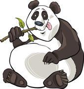 Stock Illustration of panda bear