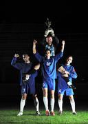 Football players celebrating the victory Kuvituskuvat