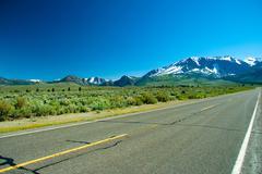 June Lake Loop highway Kuvituskuvat