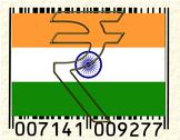 Stock Illustration of India currency