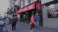 Stock Video Footage of London Cafes, Places to Eat Europe