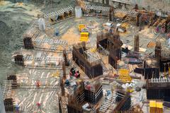 Civil construction site - stock photo