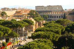 Coliseum in Rome, Italy - stock photo