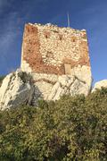 Old Artillery Tower in Mikulov - stock photo