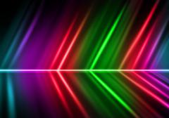 Abstract lights colorful background Stock Photos