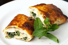 Stock Photo of Spinach Pie
