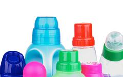 Covers of Cleaning Products Stock Photos