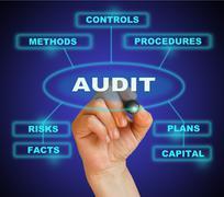 Audit Stock Illustration