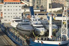 maritime transport - stock photo