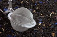 Stock Photo of Scented tea and tea ball