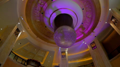 Lobby of the MGM macau Stock Footage