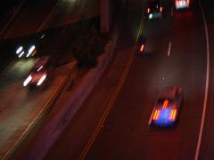 Highway Night_TIMELAPSE 5 Stock Footage
