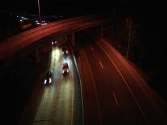 Highway Night_TIMELAPSE 3 Stock Footage