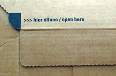 Stock Photo of Packet parcel