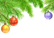 Stock Illustration of Christmas ornaments