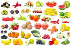 Fruits and vegetable Stock Photos