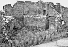 Stock Photo of Roman Wall, London