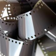 Film groove Stock Photos