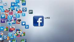 Social Network - stock after effects