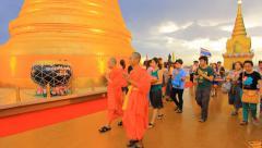 Buddhist Vesak Day Stock Footage