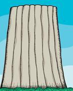 Devil's Tower Stock Illustration