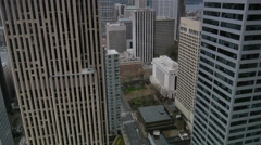 Seattle Highrises RT Stock Footage
