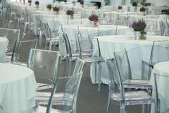classic ambient for banqueting - stock photo