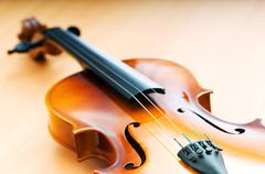 Violing in music concept Stock Photos