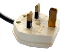 Stock Photo of British plug