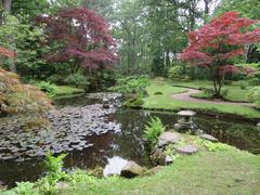 "Estate ""Clingendael"" Japanese Garden in The Hague (Holland) Stock Photos"