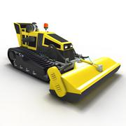 lawn-tractor - 3D model